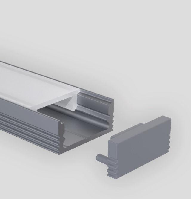 Angular Flat Profil Produktbild