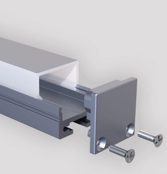 Cube silber Profil Produktbild