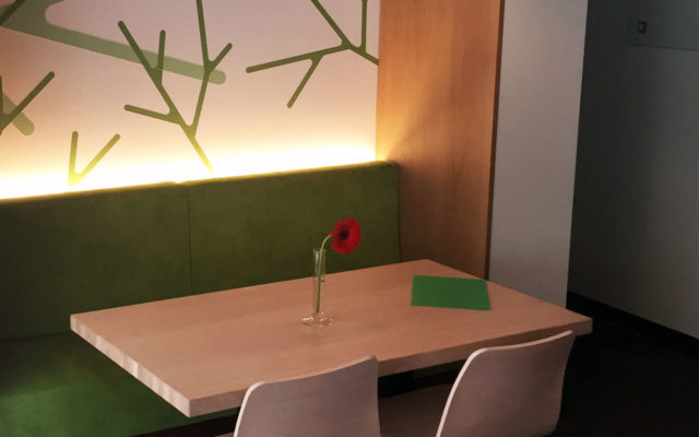 Restaurant Centro Objektbeleuchtung