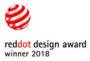 Red Dot Award Winner 2018 Logo