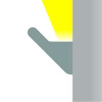 hc Wandleuchte Lichtaustritt L2