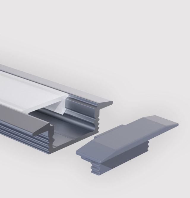 Angular Flat R Profil Produktbild