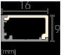Alu Eckprofil small Detailzeichnung